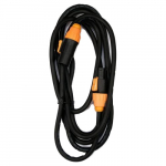 10ft IP65 Rated Male to Female Power Twist Lock Link Cable
