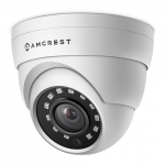 1520P Dome Outdoor Security Camera, White
