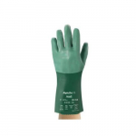 08-354  Liquid-Proof Industrial Gloves, Size 10, Green