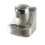 Automatic Turkish Coffee Machine, White/Silver