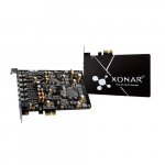 7.1 PCIe Gaming Sound Card with 192kHz/24-bit