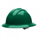 Classic Extra Large Full Brim Style Hard Hat, Green