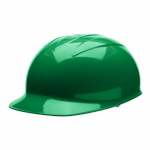 Bump Cap, Kelly Green Shell, Polyester Brow Pad