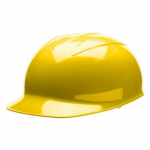Bump Cap, Yellow Shell, Polyester Brow Pad, One Size