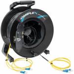 LC Single Mode Fiber Optic Snake Reel, 250ft