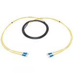 LC Single Mode Fiber Optic Snake, 500ft