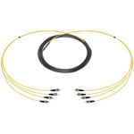 4-Channel ST Multimode Fiber Optic Snake