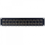 2RU 24-Port Duplex ST Fiber Feedthru Panel