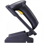 1500P Black Linear Imager Scanner with Stand