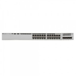 24-Port PoE+ Switch with Modular Uplink