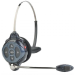 2-Channel All-in-One Wireless Headset, 7 kHz