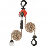 1,100 Lb, 10' Height, Chain Mini-Ratchet Manual Hoist