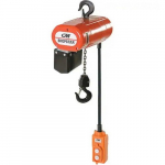 1,000 Lb  6 FPM Lift Speed 115V Electric Chain Hoist