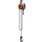 1,000 Lb Capacity, 20' Lift Height, Chain Manual Hoist