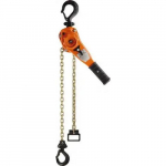 1,500 Lb Capacity, 15' Lift Height, Chain Lever Hoist