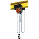 1,102 Lb Capacity, 15' Lift Height, Manual Chain Hoist