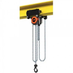 1,102 Lb, 30' Lift Height, Manual Chain Hoist