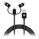 3-in-1 Mobile Charging Cable