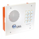 Enabled Indoor Intercom with Keypad - Flush Mount