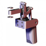 Air Power Hold-Down Toggle Clamp, 450lb Capacity