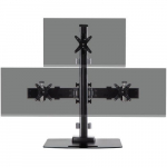 Triple 1x2 Monitor Clamp Mount