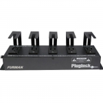 Power Distribution Strip, 5 Spaced Outlets, Brackets