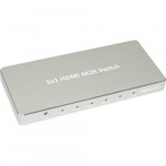 5x1 HDMI Aluminum 4K 2K 3D 60Hz 5 In 1 Out Switch