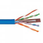 Bulk Cable, CMR Jacket in a Pull Box, 1000 Feet, Blue