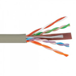 500Mhz CAT6 Bulk Cable, 1000 Feet, Gray