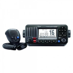 M424G Fixed Mount VHF Radio with Internal GPS, Black