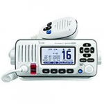 M424G Fixed Mount VHF Radio with Internal GPS, White