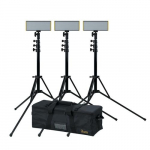 Bi-Color 3-Point LED Light Kit, Onyx 30W