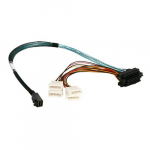 12 Gb/s HD miniSAS SFF-8643 to 4x Cable
