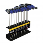"6"" Metric Ball End T-Handle Set 8-Piece"