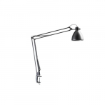 L-1 LED Task Light with Edge Clamp, Silver Grey