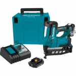 "18V LXT 2-1/2"" Straight Finish Nailer Kit"