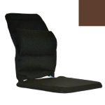 "12"" Deluxe Seat Support, Brown"