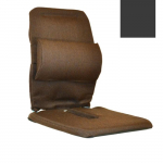 "12"" Deluxe Seat Support, Charcoal"
