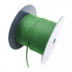 2 Channel 26 AWG Console Cable, 656 ft, Green