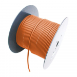 2 Channel 26 AWG Console Cable, 656 ft, Orange