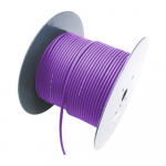 2 Channel 26 AWG Console Cable, 656 ft, Purple