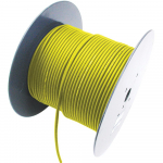 2 Channel 26 AWG Console Cable, 656 ft, Yellow