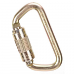 "9/16"" Steel Carabiner, Gate Opening, Auto-Locking"