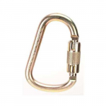 "1"" Steel Carabiner, Gate Opening, Auto-Locking"