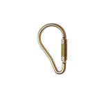 "2.1"" Steel Carabiner, Gate Opening, Auto-Locking"