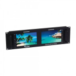 HDMI 3G-SDI Dual Rackmount Display, 7""