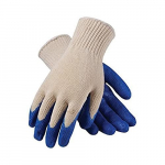 39-C122 Knit Glove with Latex Coated Smooth Grip, L