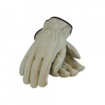 68-162 Cowhide Leather Drivers Glove, Keystone Thumb, L