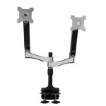Dual Monitor Desk Clamp/Grommet