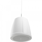 "2-Way 30W Pendant-Mount Loudspeaker, 4.5"", White"
